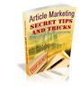 Thumbnail Article marketing Secrets and tips